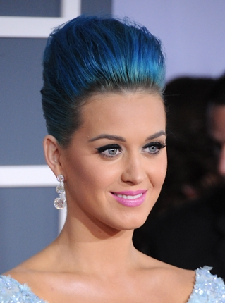 Katy Perry with makeup