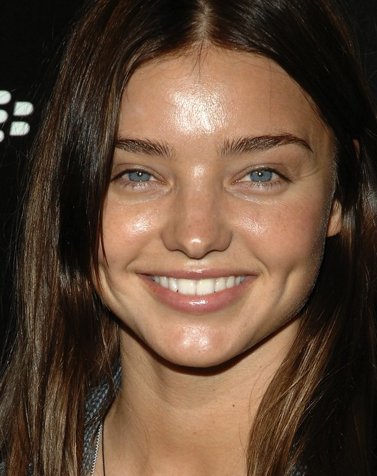 Miranda Kerr no makeup
