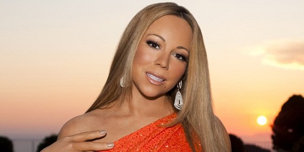 Mariah Carey with makeup photo