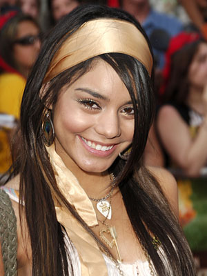 Vanessa Hudgens beauty with makeup