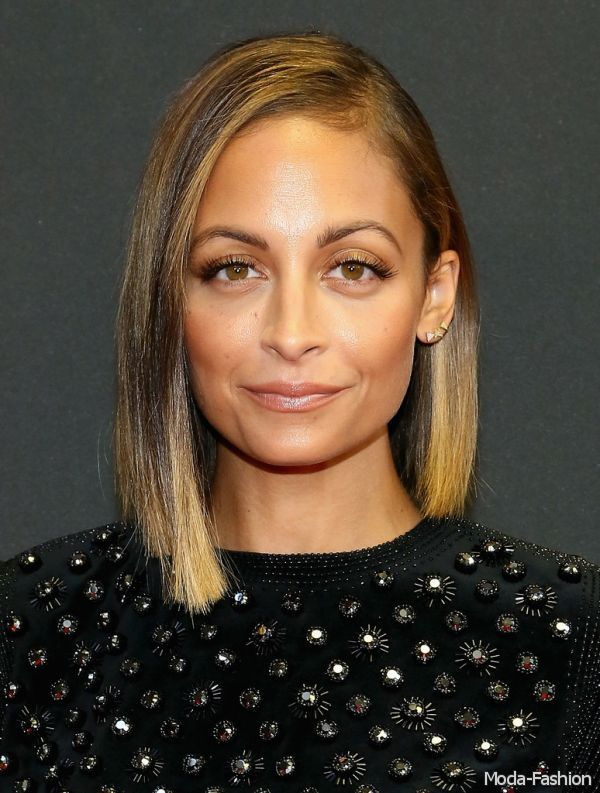 Nicole Richie with makeup