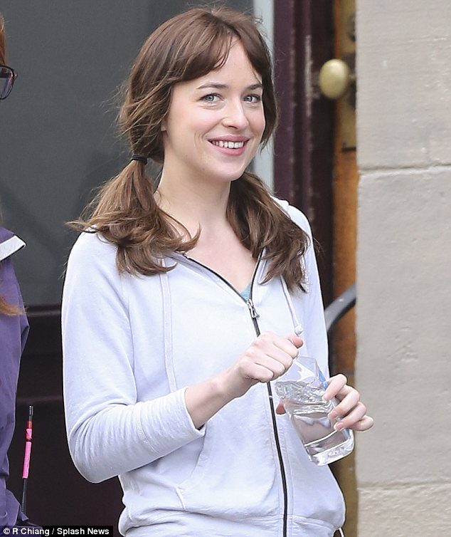 Dakota Johnson without makeup