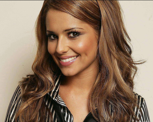 Cheryl Cole with makeup