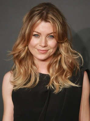 Ellen Pompeo with makeup