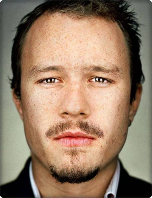 Heath Ledger without makeup