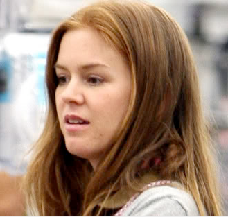 Isla Fisher no makeup