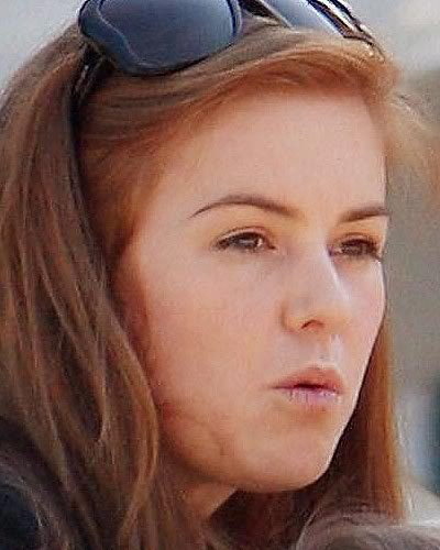 Isla Fisher without make up