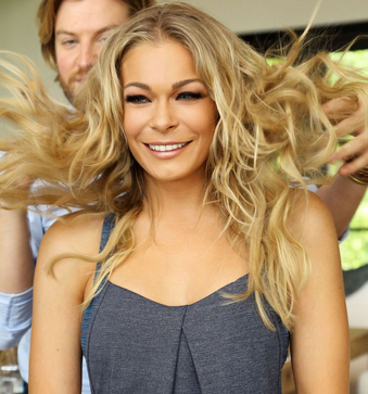 LeAnn Rimes with makeup