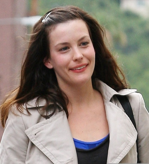 Liv Tyler without makeup
