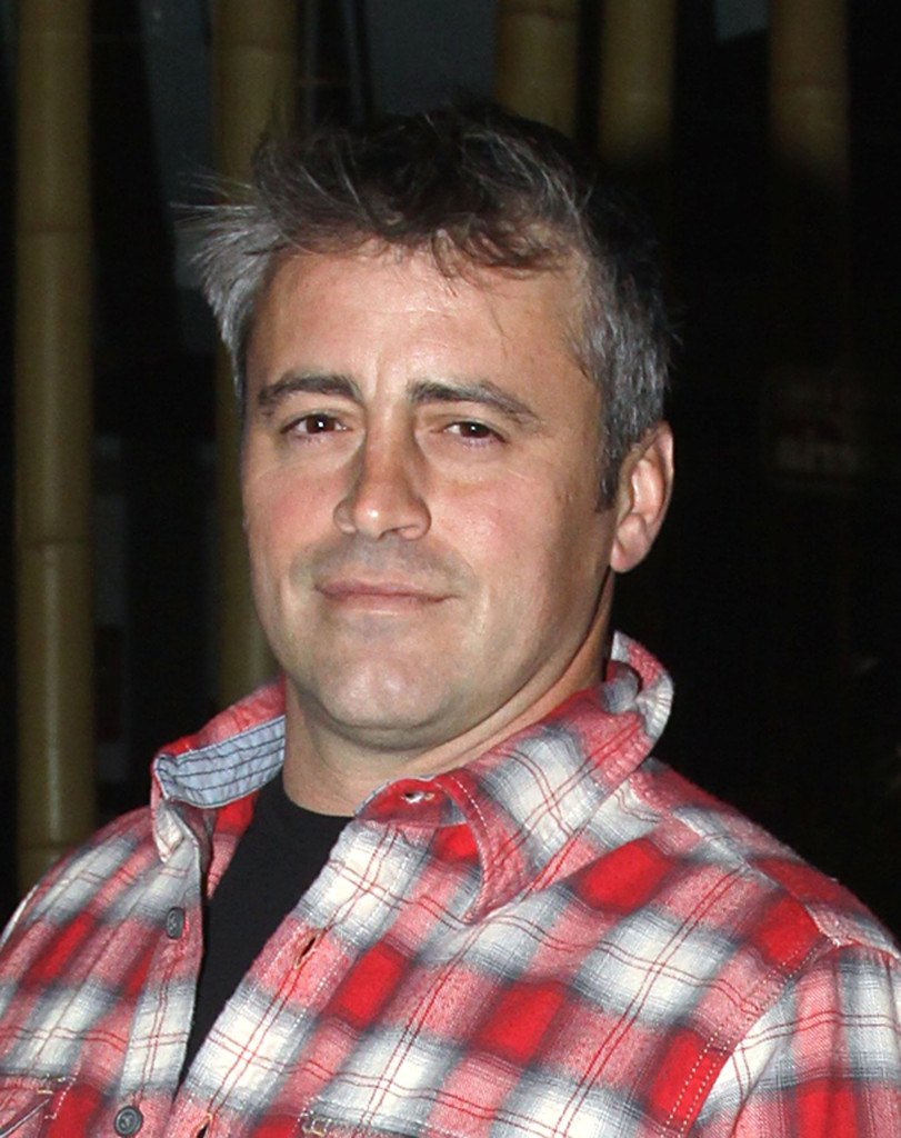 Matt LeBlanc without makeup