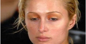 Paris Hilton without makeup