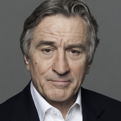 Robert De Niro with makeup