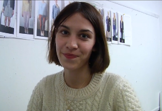Alexa Chung without makeup