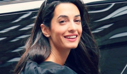 Amal Clooney without makeup