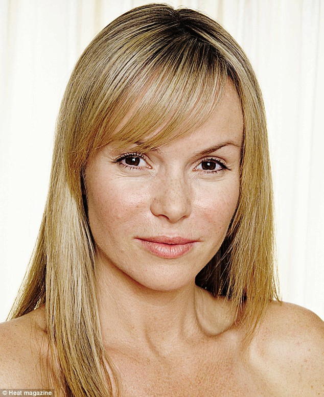 Amanda Holden without makeup
