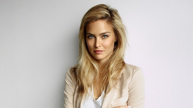 Bar Refaeli with makeup