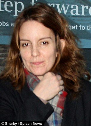Tina Fey without makeup