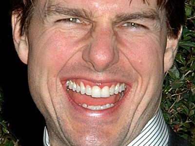 Tom Cruise no makeup
