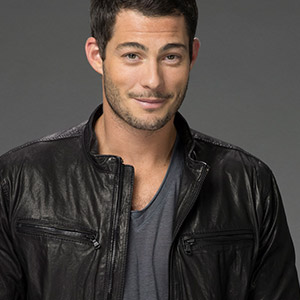 Brian Hallisay with makeup
