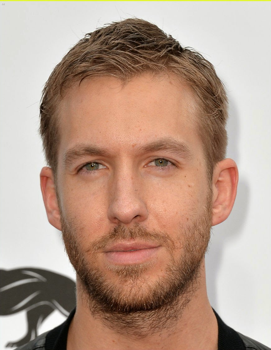 Calvin Harris without makeup