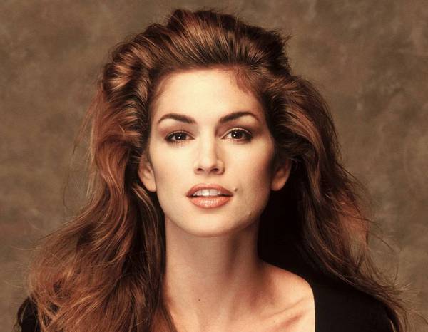 Cindy Crawford with makeup