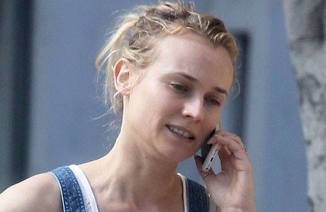 Diane Kruger no makeup