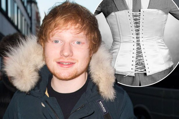 Ed Sheeran no makeup