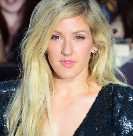Ellie Goulding with makeup