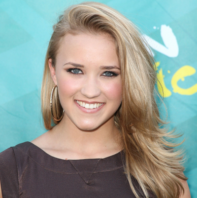Emily Osment with makeup