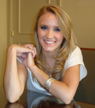 Emily Osment without make up