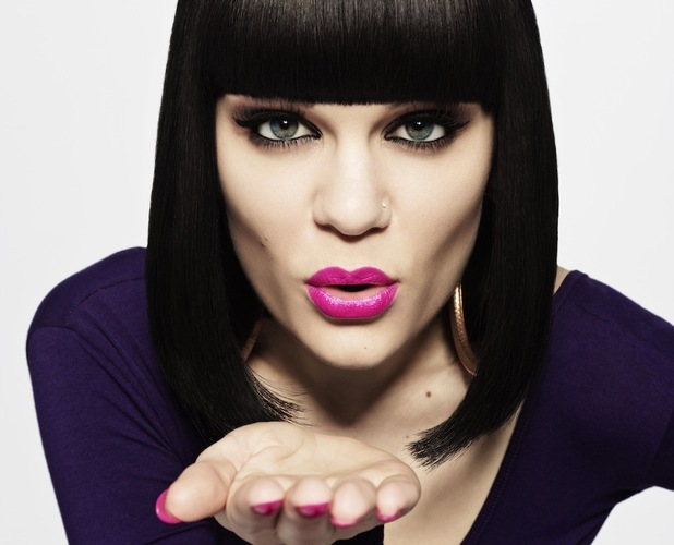Jessie J with makeup