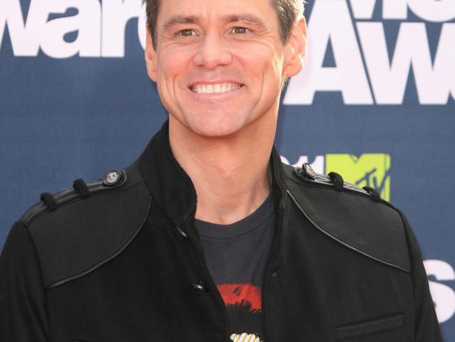 Jim Carrey no makeup