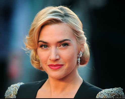 Kate Winslet with makeup