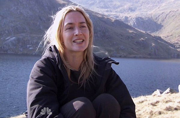 Kate Winslet without make up