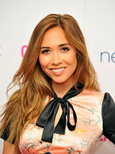 Myleene Klass with makeup