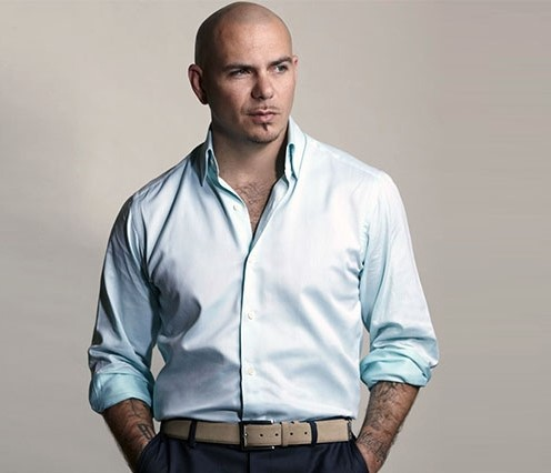 Pitbull with makeup