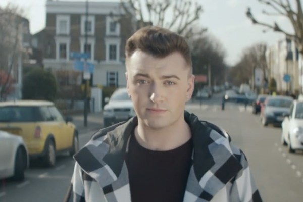 Sam Smith no makeup