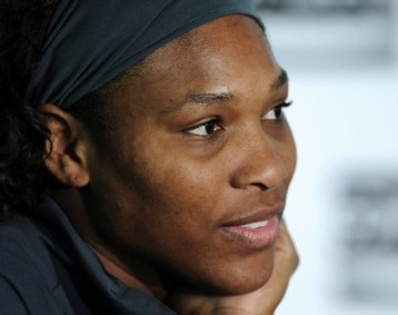 Serena Williams without makeup