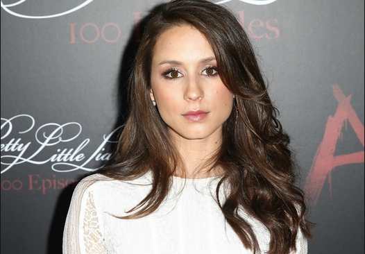 Troian Bellisario with makeup