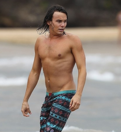 Tyler Blackburn no makeup