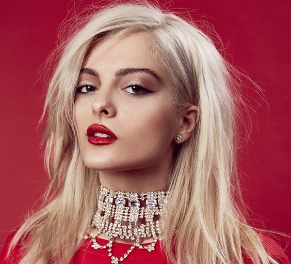 Bebe Rexha with makeup