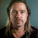 Brad Pitt without makeup