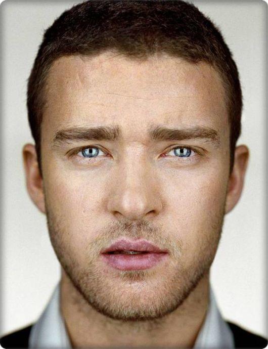 Justin Timberlake without makeup