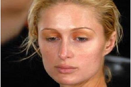 Paris Hilton without makeup