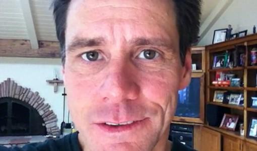 Jim Carrey without makeup